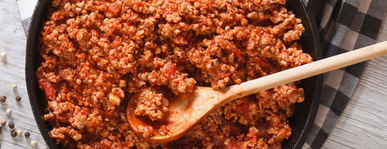 Save with Bolognese